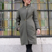 Princess Kimono Coat (Reiss Inspired)