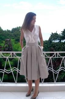 Burdastyle Midi Skirt