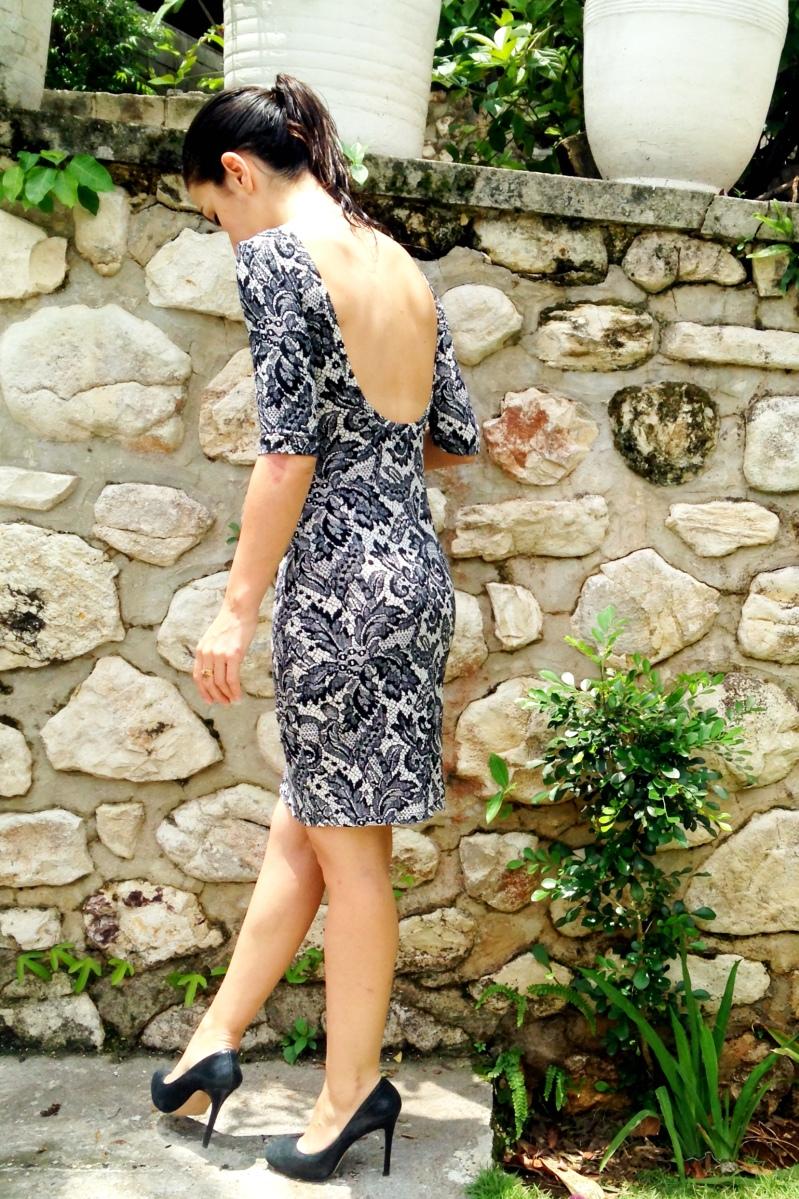 Faux Lace Nettie Dress