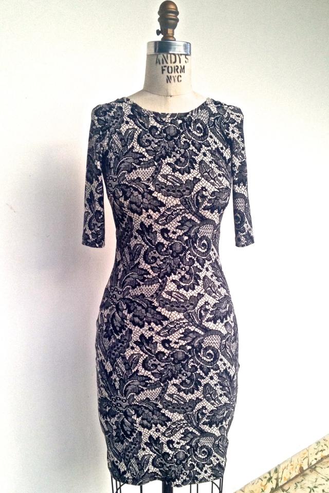 Dressform front nettie dress