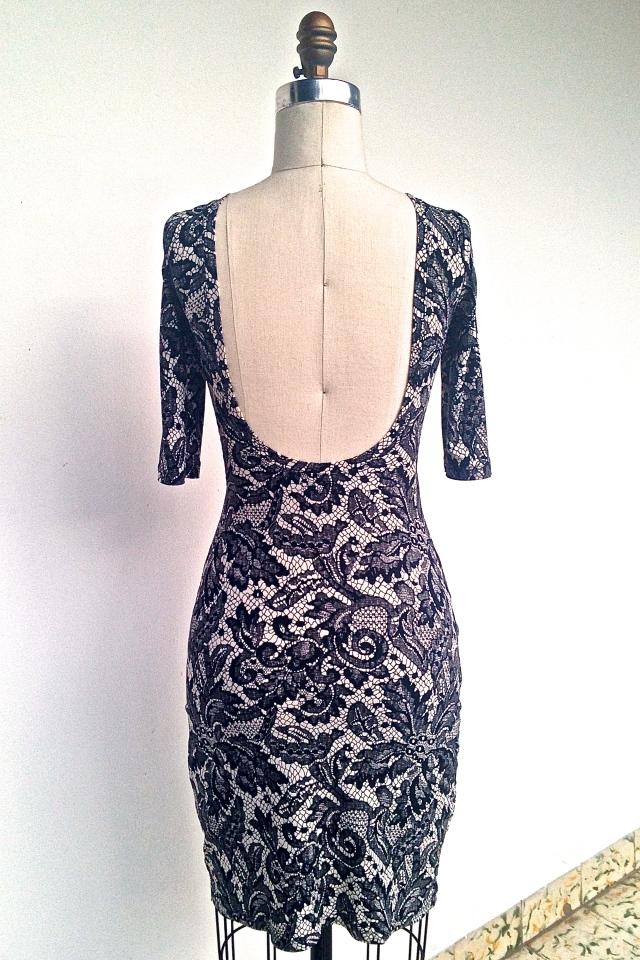 Dressform Back - Nettie Dress
