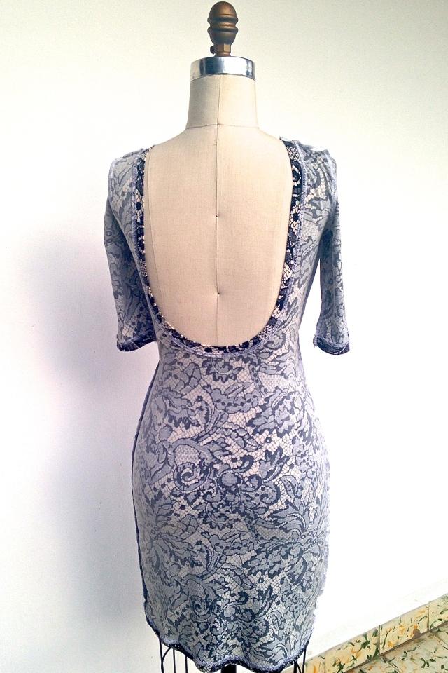 Inside back - Nettie Dress
