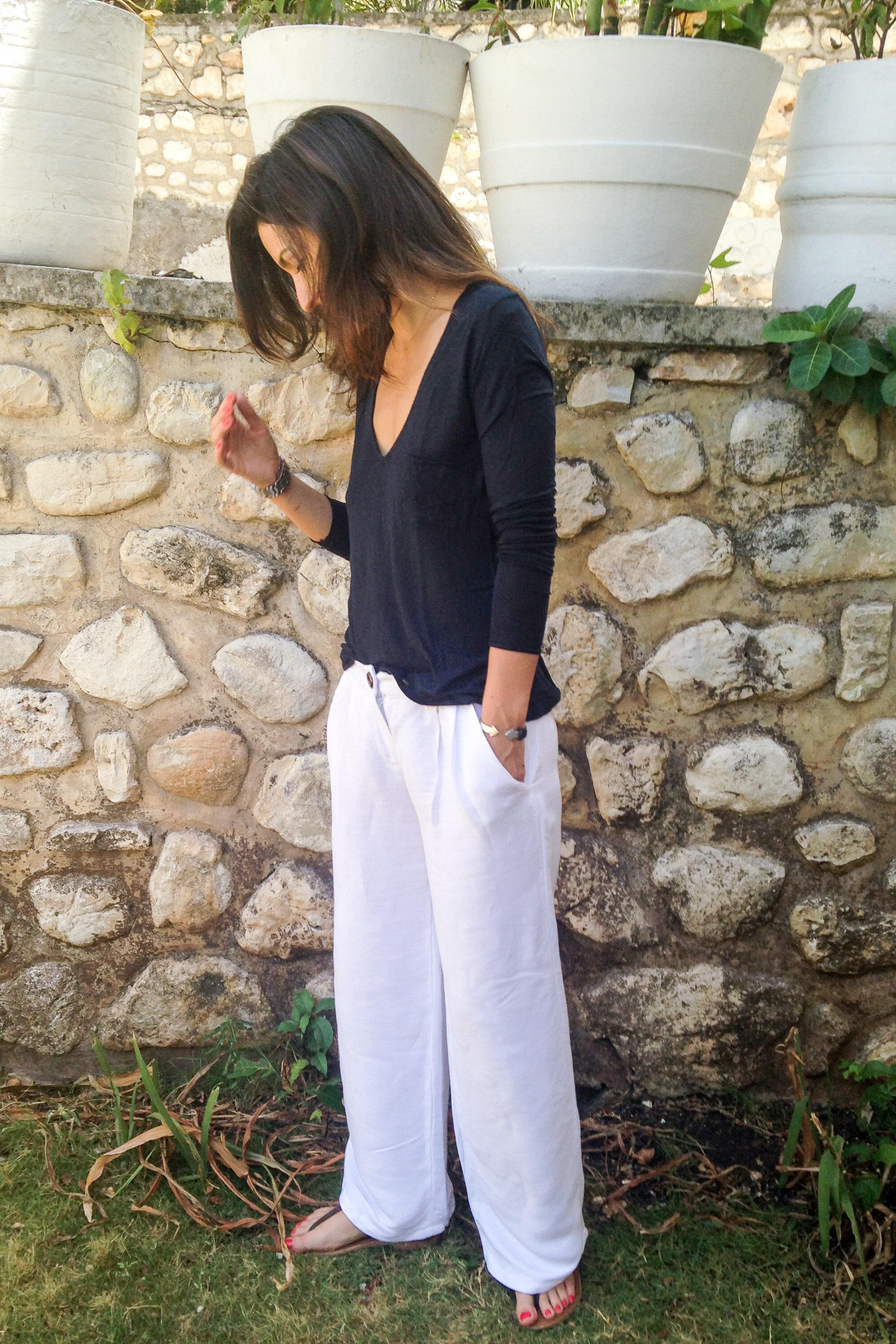 linen pants pattern - Pi Pants