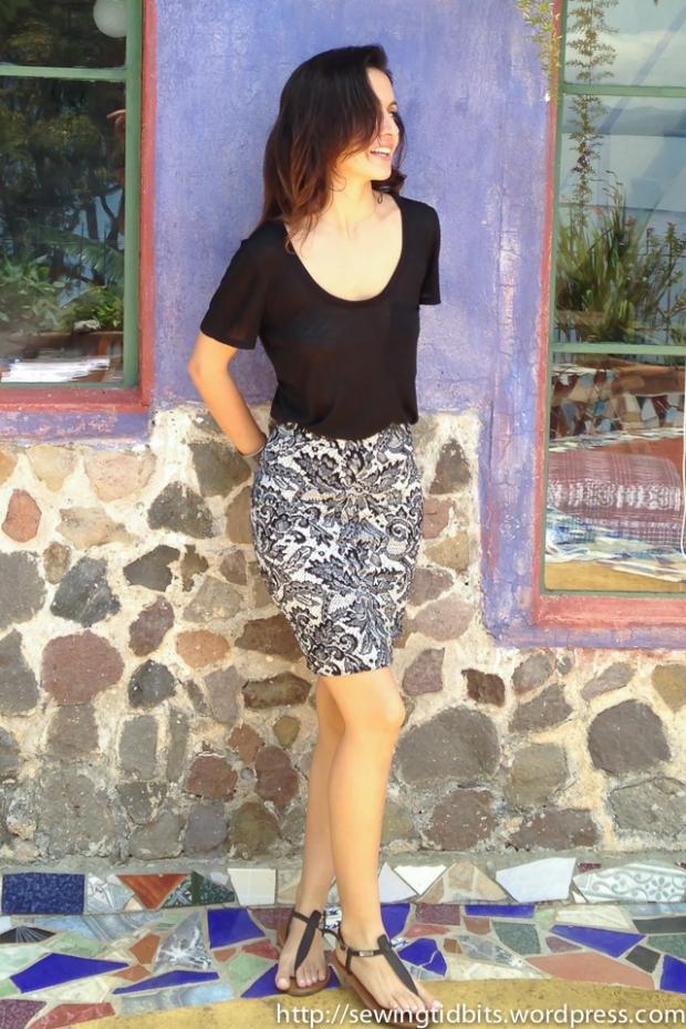 Named shadi skirt