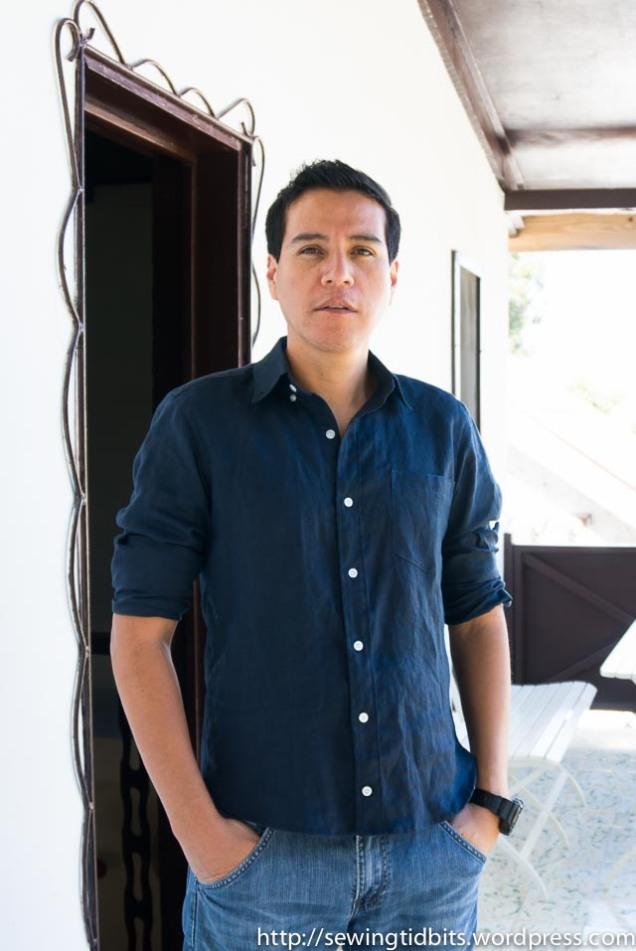 Man Linen Shirt-1