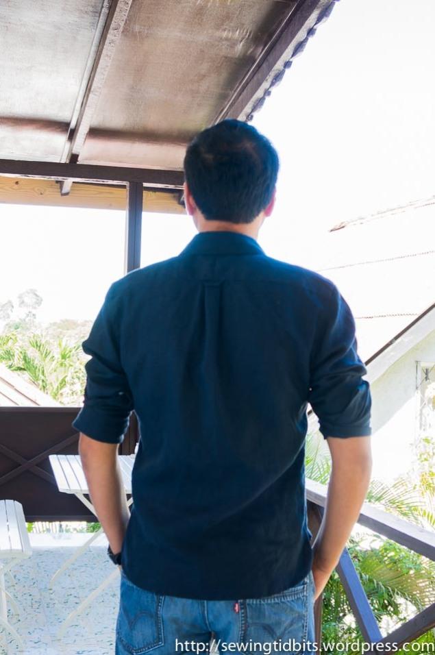 Man Linen Shirt-2