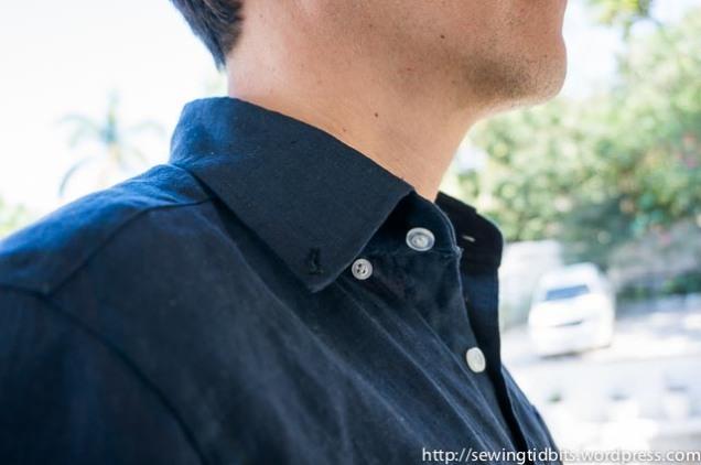 Man Linen Shirt-3