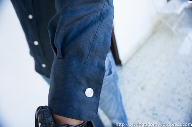 SewingTidbits Shirtmaking - The Cuff