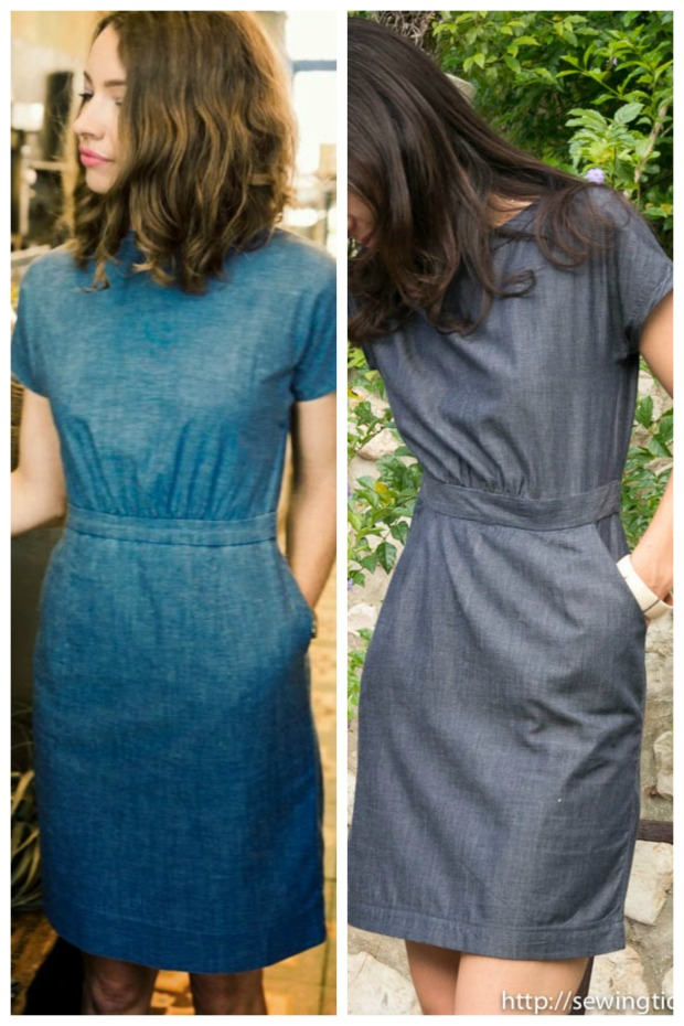 Comparaison Chambray Dress