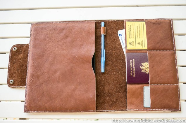 Handstitched Leather Ipad Case-2