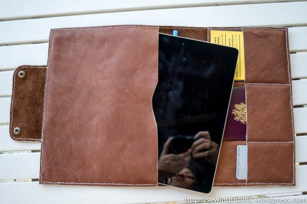 Handstitched Leather Ipad Case-4