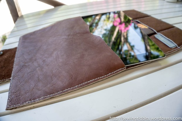 Handstitched Leather Ipad Case-5