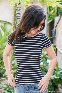 Nettie T-shirt by SewingTidbits