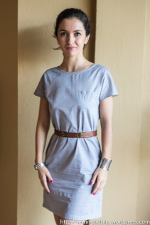 Sewing Tidbits - Chambray Tunic-6