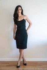Lined Pencil Skirt + Bias Silk Tank by Sewing Tidbits