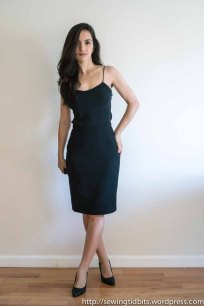 Lined Pencil Skirt + Bias Silk Tank by Sewing Tidbits