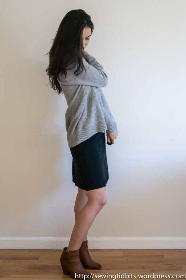 SewingTidbits-Black Slip dress-8