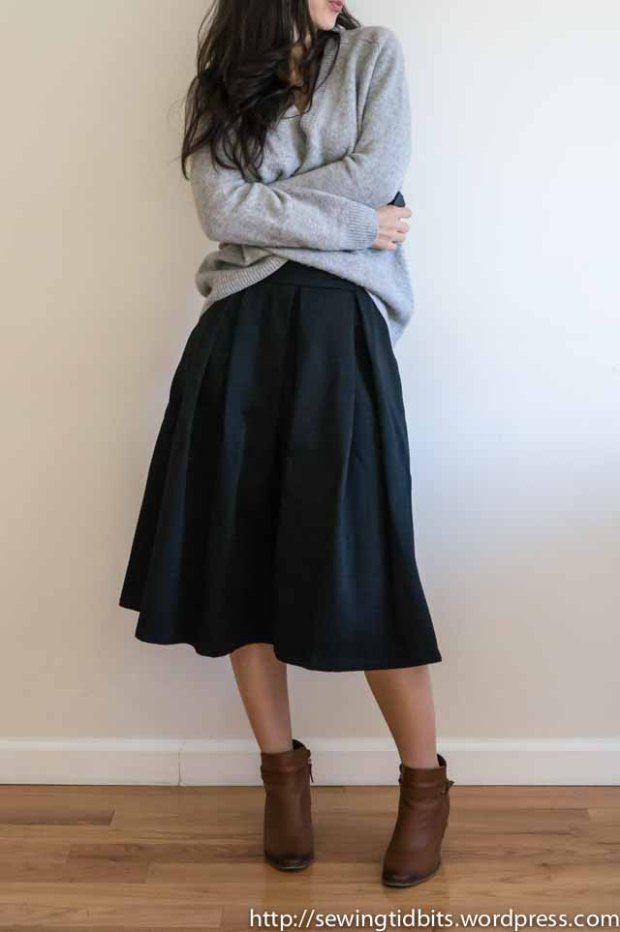 SewingTidbits-Pleated Skirt-1