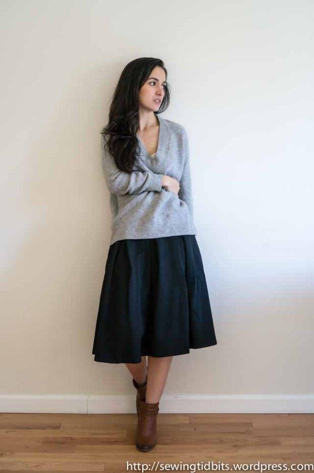 SewingTidbits-Pleated Skirt-4