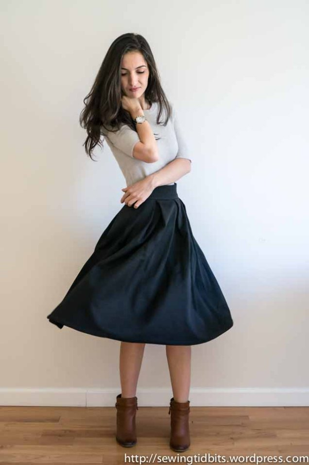 SewingTidbits-Pleated Skirt-6