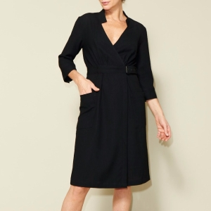 Just Patterns Linda Wrap Dress