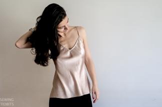 Kate bias top by Sewing Tidbits