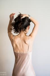 Just Patterns Christy Bias Slip Dress by Sewing Tidbits