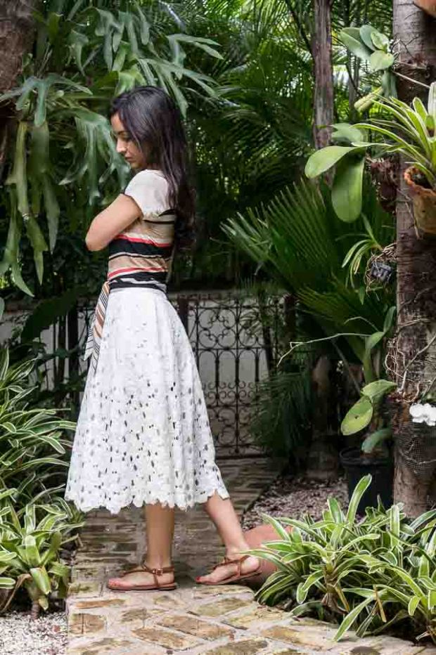 Just Patterns Lace Stephanie Skirt by Sewing Tidbits-4