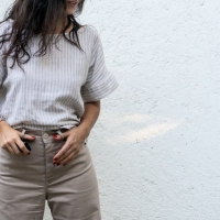 Sewing slower - Persephone Pants and Fulwood Top