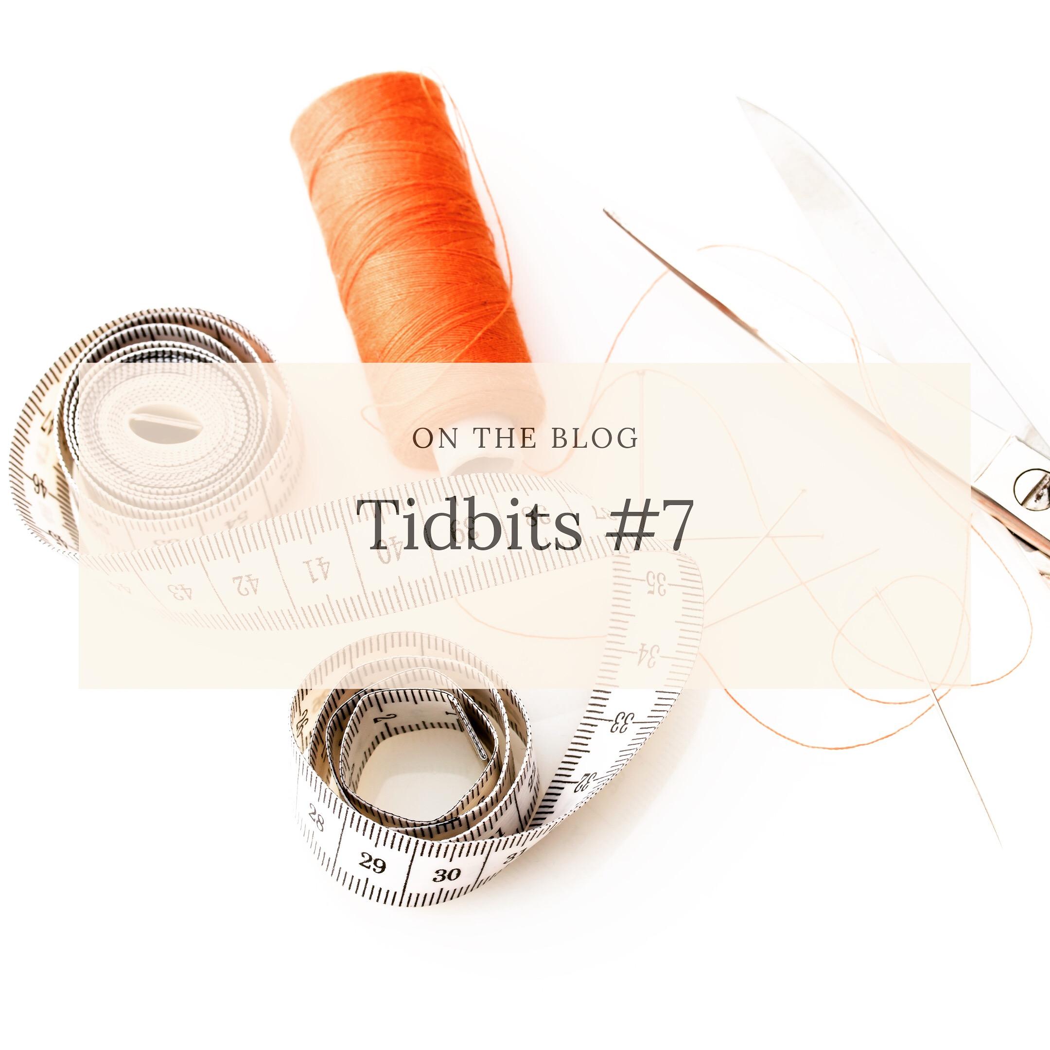 Sewing Tidbits Cover image 7