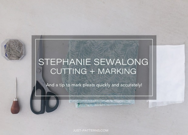 Blogpost banner Stephanie Sewalong cutting