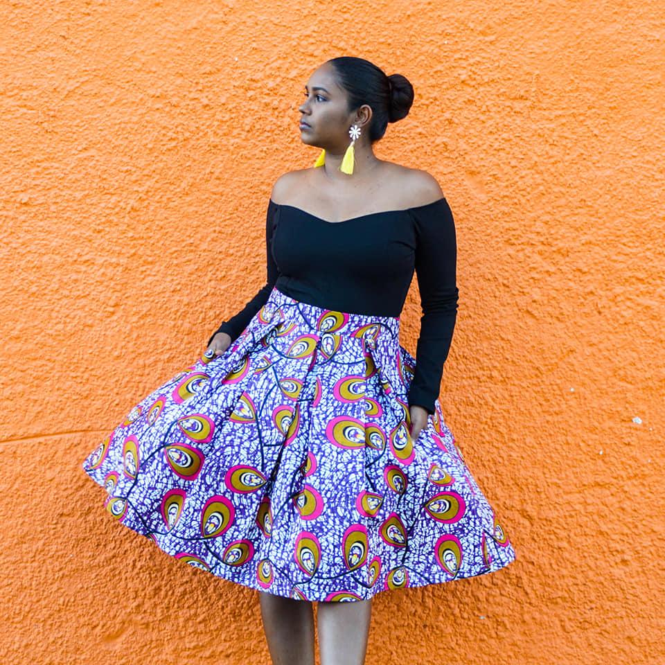 Just Patterns Stephanie Skirt by Island Sewist 2