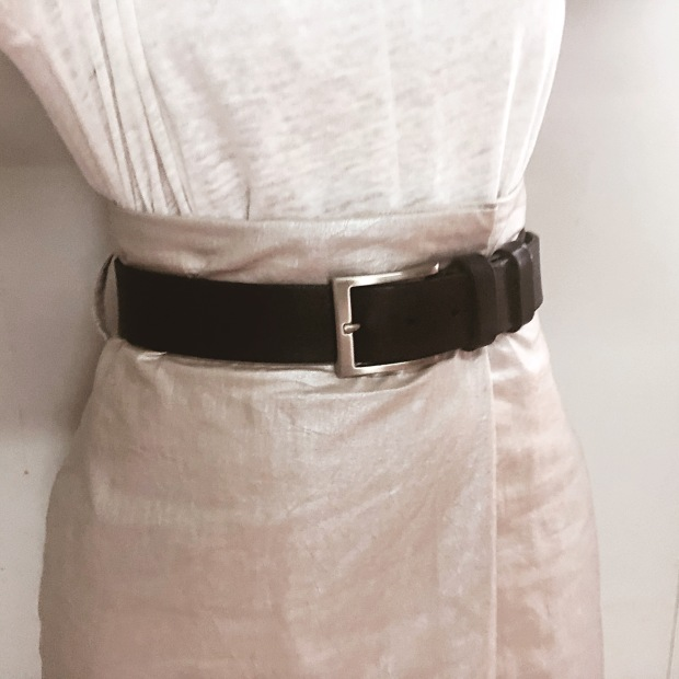 Sewing Belted Wrap Skirt